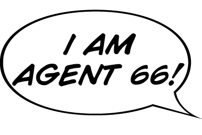 I am Agent 66 Word Balloon