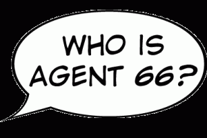 Who Is Agent 66? Word Balloon