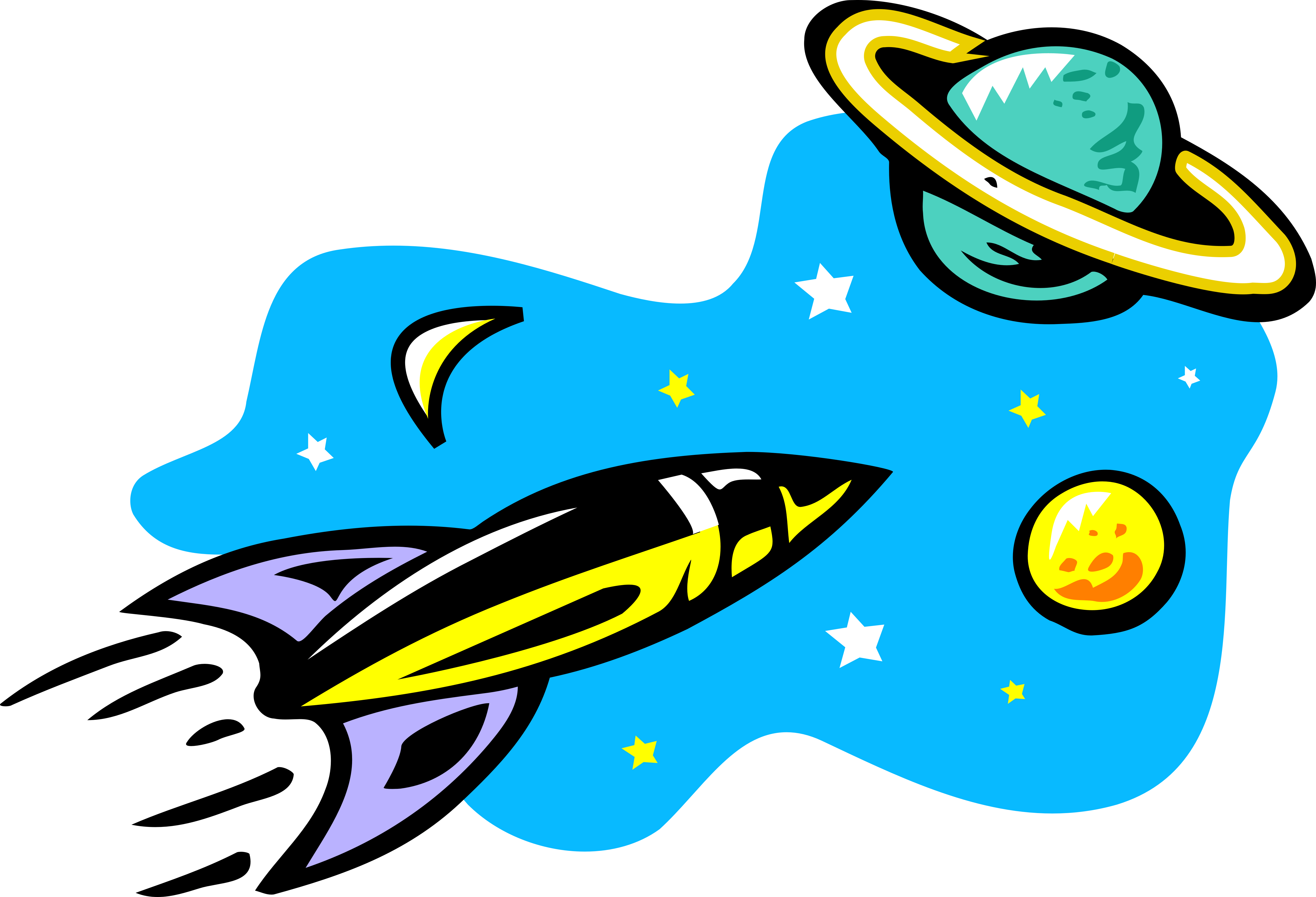 Рисунки о космосе 22 фотография